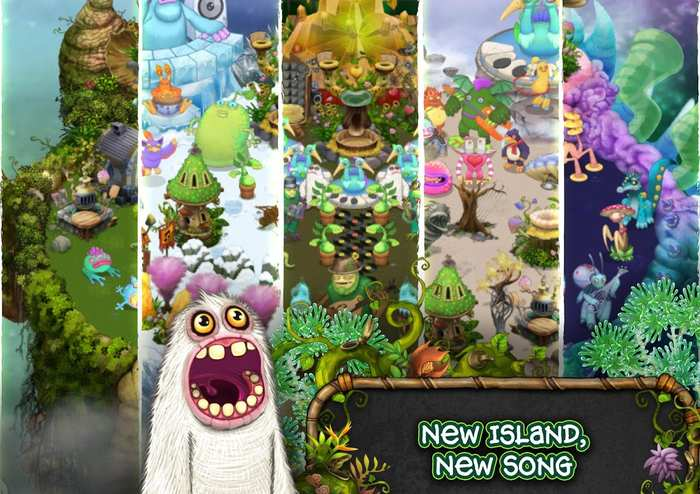 My Singing Monsters game 2016