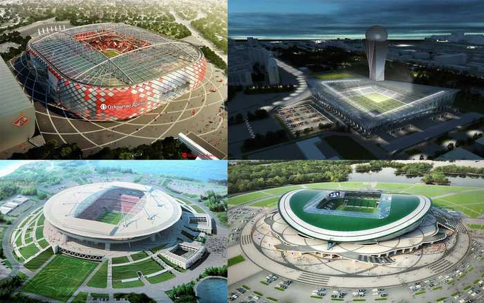 russia stadions 2017